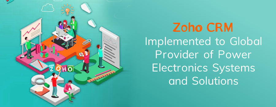 Zoho CRM to Power industry