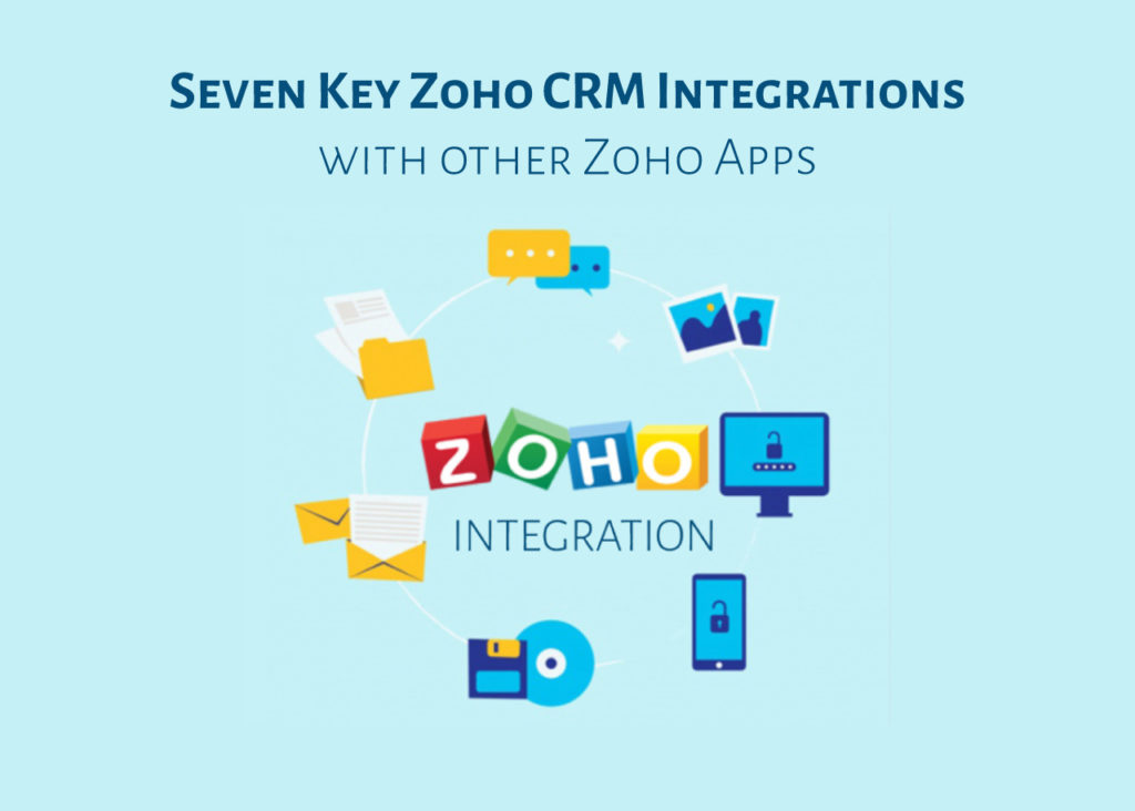 Seven Key Zoho CRM Integrations with other Zoho Apps